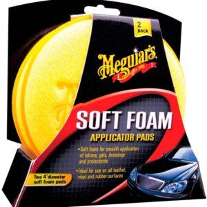 Meguiars Soft Foam Applicator Pads 2er Pack