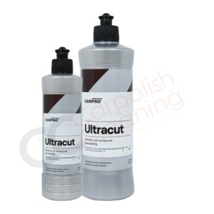 Ultracut Schleifpolitur von CarPro 250ml und 500ml Produktgrössen