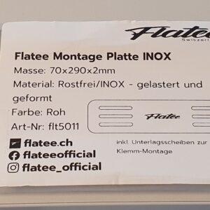 Flatee Montage Platte Inox