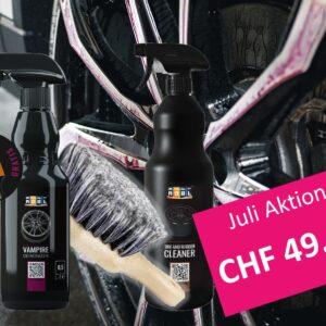 Juli Aktion ADBL Vampire, Tire and Rubber Cleaner, Gratis Detailing Pinsel und Räderbürste von Chemical Guys