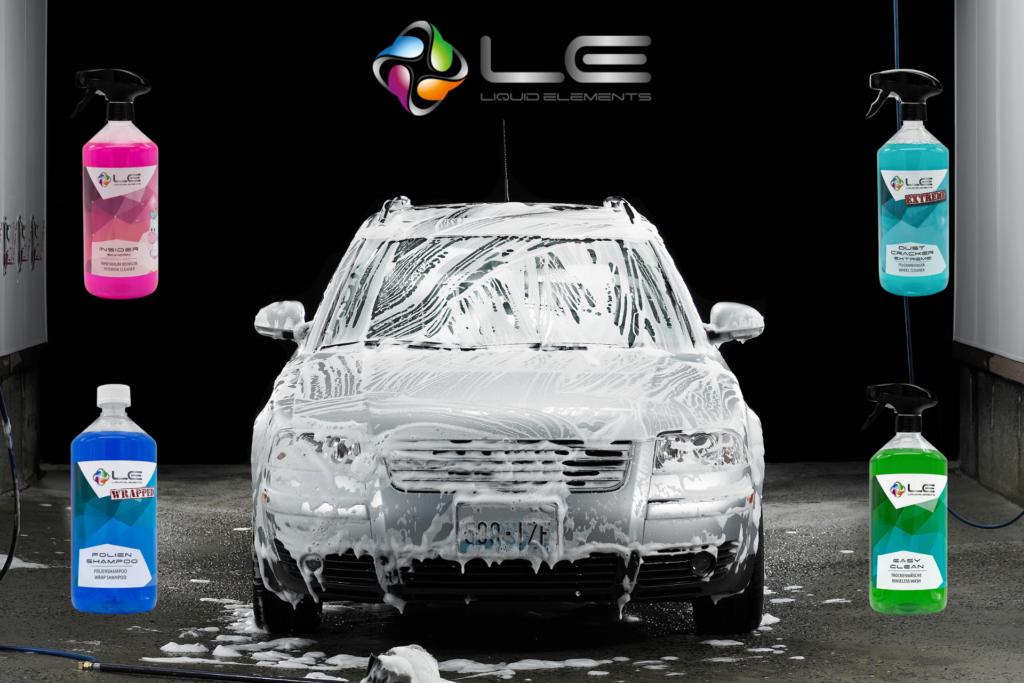 Liquid Elements Produkte – Neu bei Carpolish and Cleaning